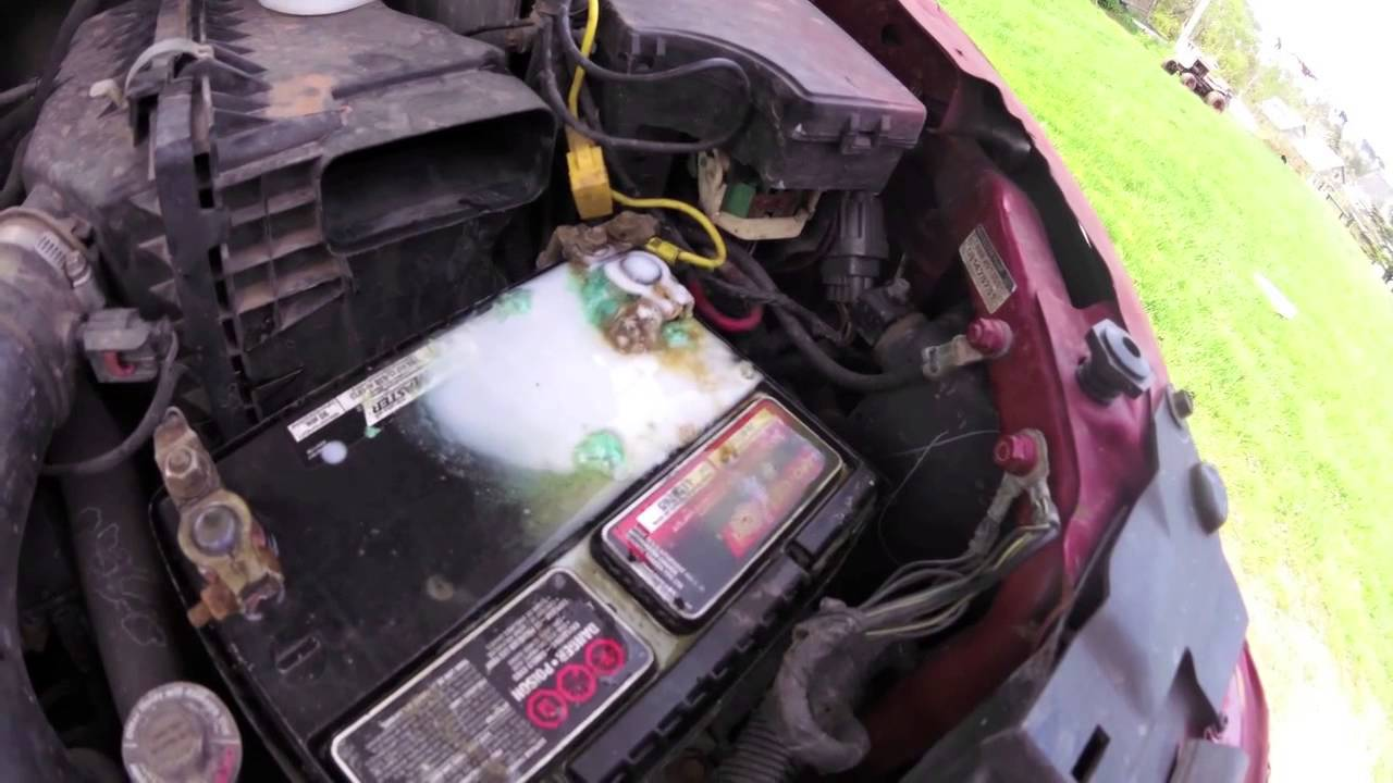 how to clean your car battery
