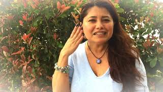 Azucena describes her experience @TheSacralCircle w Janie The Mindfulness Coach