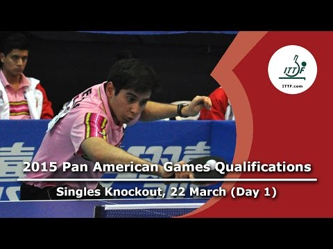 Pan American Games Qualification - Singles Knockout