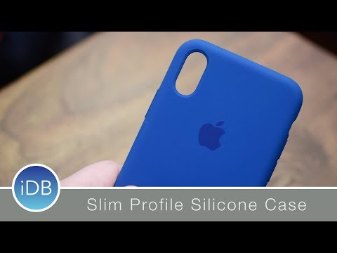 e12800e14460d3 Apple Silicone Case for iPhone X - Review - YouTube