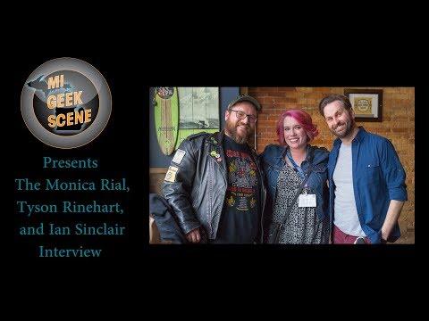 Monica Rial, Tyson Rinehart, and Ian Sinclair at Shuto Con 2018 (Audio Interview)