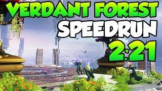Verdant Forest SPEEDRUN in 2:21  [Clear + All 5 Bosses]