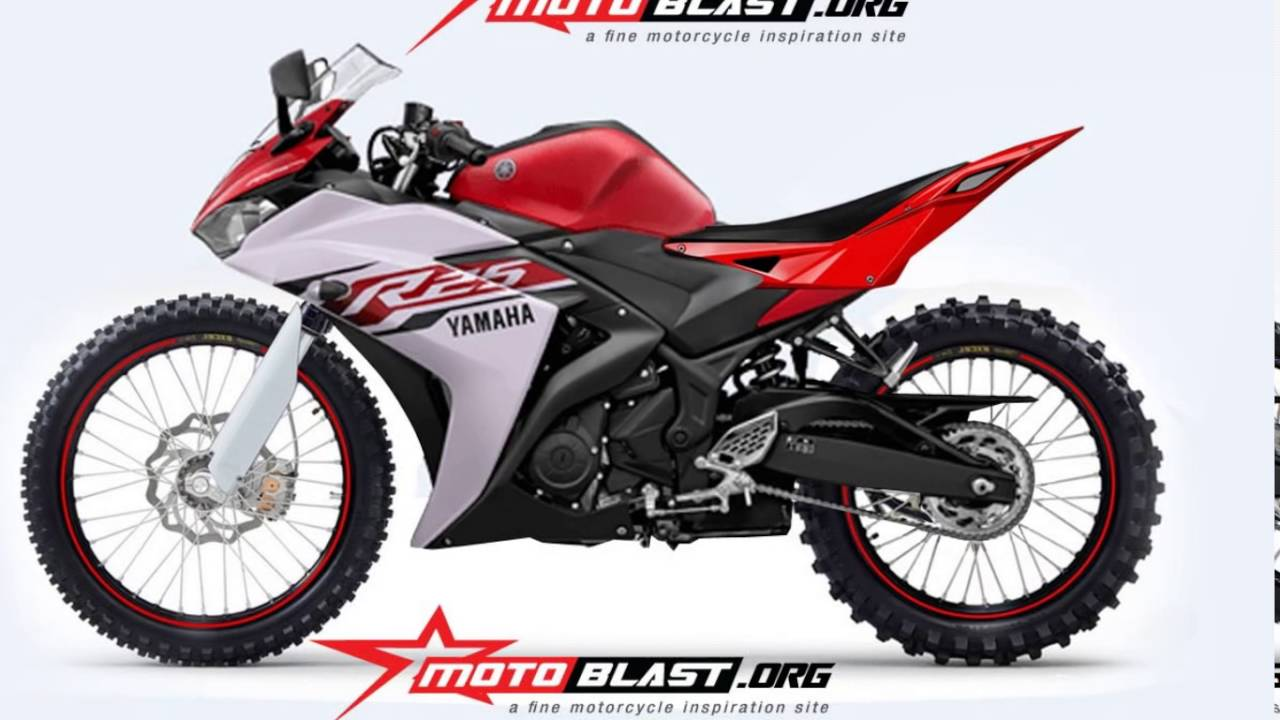 Yamaha r25 modifikasi trail youtube