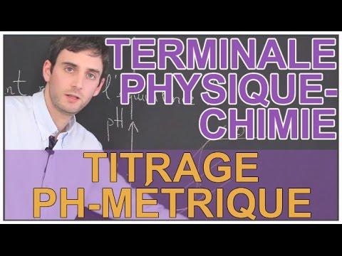 Titrage pH-métrique - Physique-Chimie - Terminale - Les Bons Profs