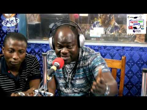 SPORTFM TV - PLATEAU FOOT EUROPE DU 1er JUIN 2018 PRESENTE PAR ANGELO
