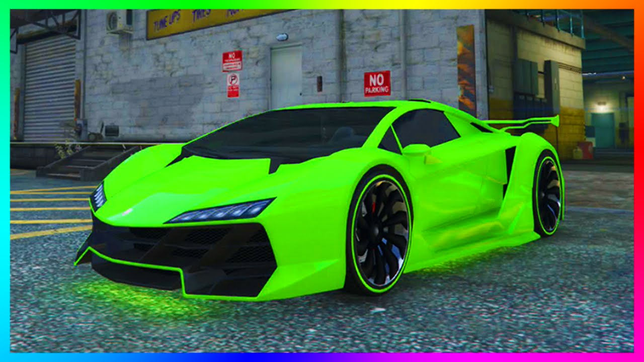 GTA 5 Online Rare Paintjob Guide - Raspberry Lemonade, Sour Apple ...