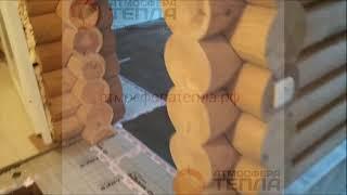 Marpe Black Heat инфракрасное отопление дома в Лебедевке (Лен. область)