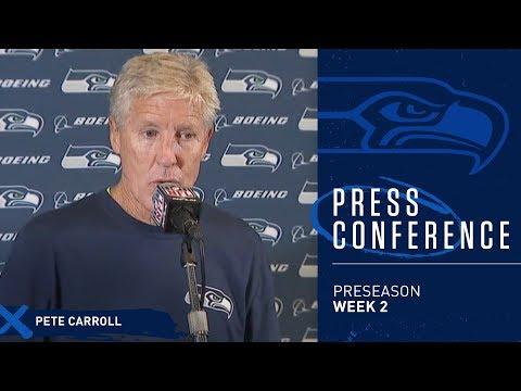 Seahawks Head Coach Pete Carroll Postgame Press Conference vs Chargers