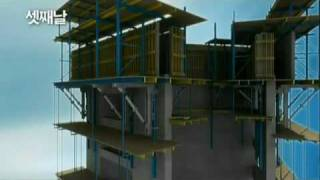 Burj Khalifa (Burj Dubai) Construction - Animation - U.A.E..mp4