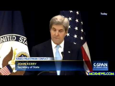 """Expansion Of Settlements And The Seemingly Endless Occupation"" Secretary Of State John Kerry"