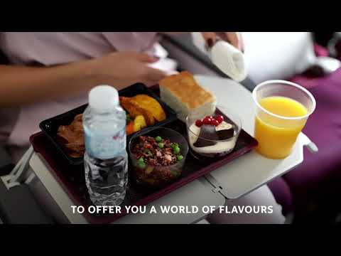 Digital Menus | Qatar Airways