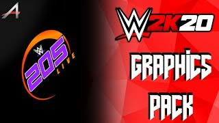 WWE 2K20 205 Live Graphics Pack [ALEX 190]