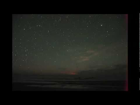 Stars over the Pacific Ocean at Kalaloch, Washington