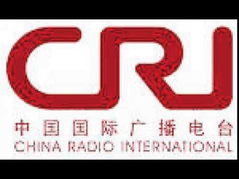 China Radio Int. on 17570khz shortwave at 0920 07 Aug 2015