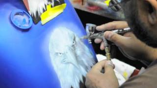 Video Airbrushing a Motorcycle tank download MP3, 3GP, MP4, WEBM, AVI, FLV Mei 2018