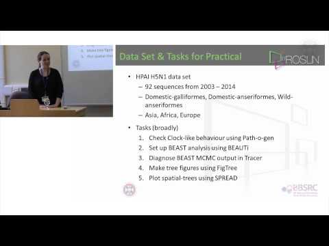 1. Phylogenetics & Phylogeography Practical - Overview -