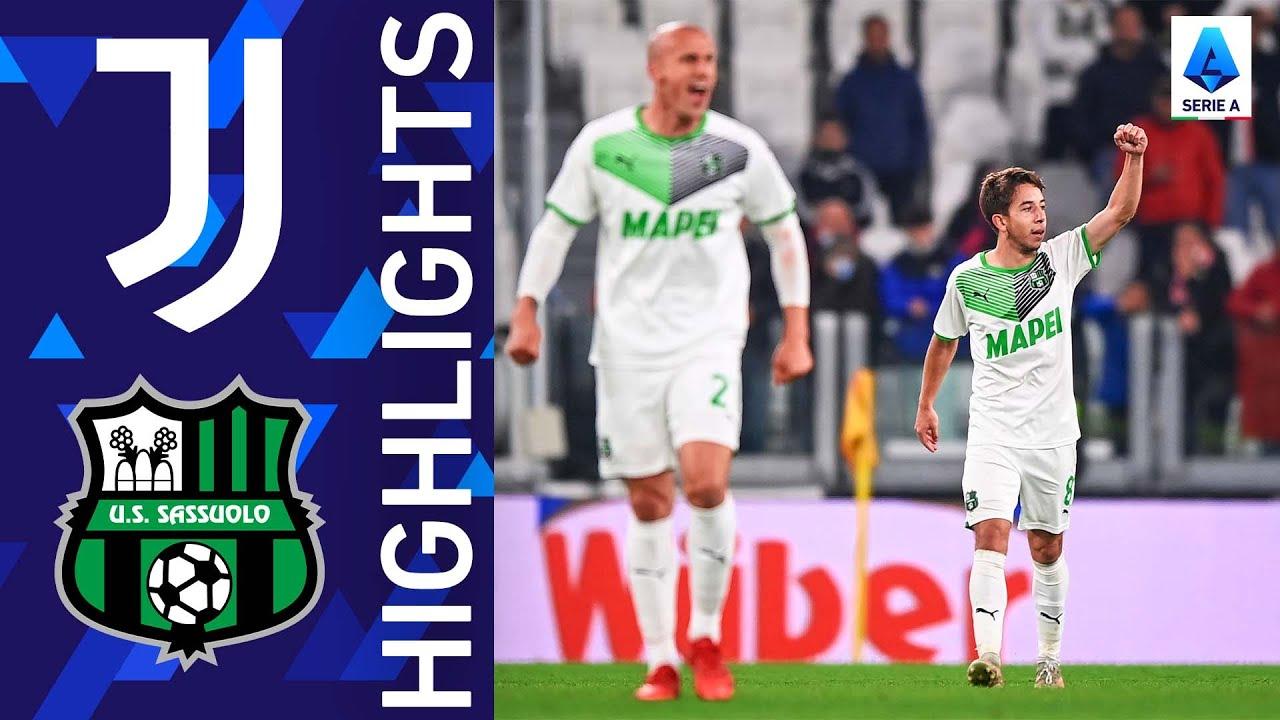 Download Juventus 1-2 Sassuolo | Sassuolo stun the Allianz Stadium | Serie A 2021/22