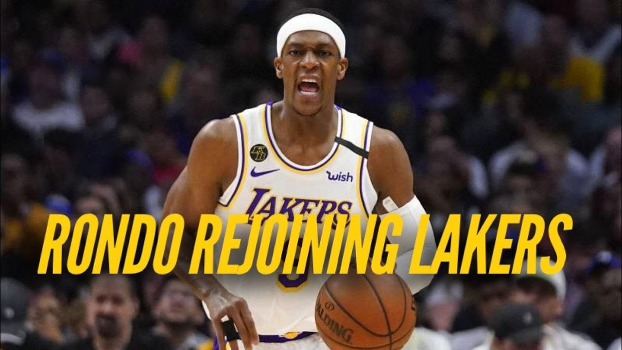 Rajon Rondo Back With Lakers, What Does It Mean For The Playoffs?