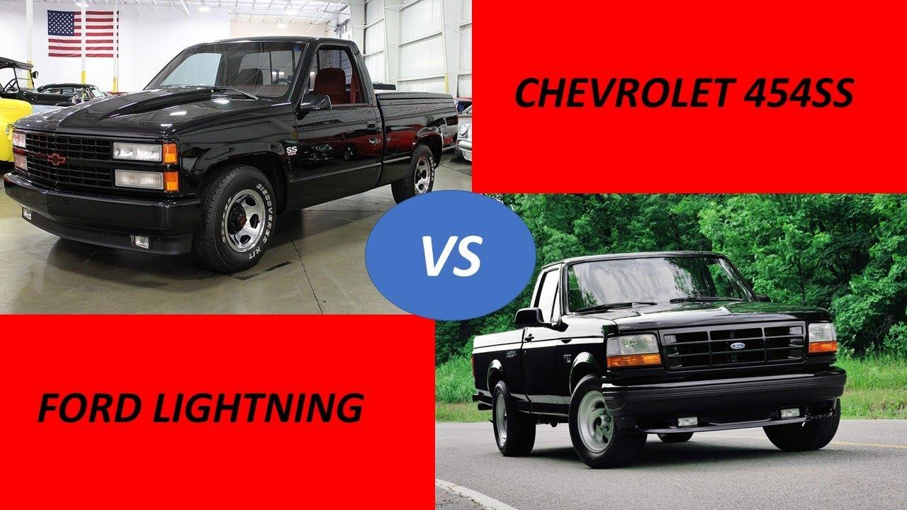 ¡HAY TIRO! Chevrolet 454 SS vs Ford LIGHTNING