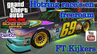 [MP] Hotring race's en freeroam. FT. Crew [GTA V en fortnite] [Road To The 445 Subs ] [#31] [NL]