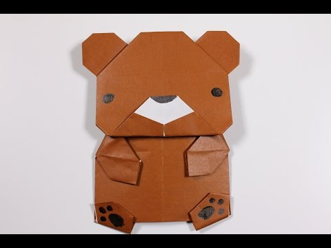 How to Origami Animal :  Bear