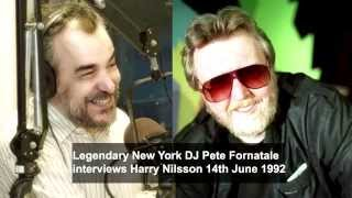 HARRY NILSSON Interviewed by DJ Pete Fornatale in 1992 (Full Version)