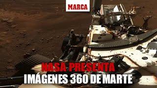 DIRECTO MISIÓN MARTE: La NASA presenta una visión 360º de la superficie de Marte
