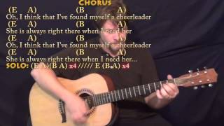 Cheerleader (OMI) Strum Guitar Cover Lesson in E with Chords/Lyrics