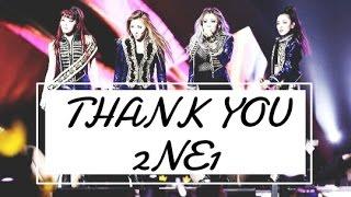 THANK YOU 2NE1
