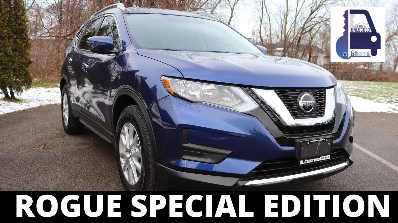 Is The 2020 Nissan Rogue Special Edition Worth Your Additional 1000 Youtube