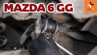 Ako vymeniť zadný silentblok stabilizátora na Mazda 6 GY NÁVOD | AUTODOC