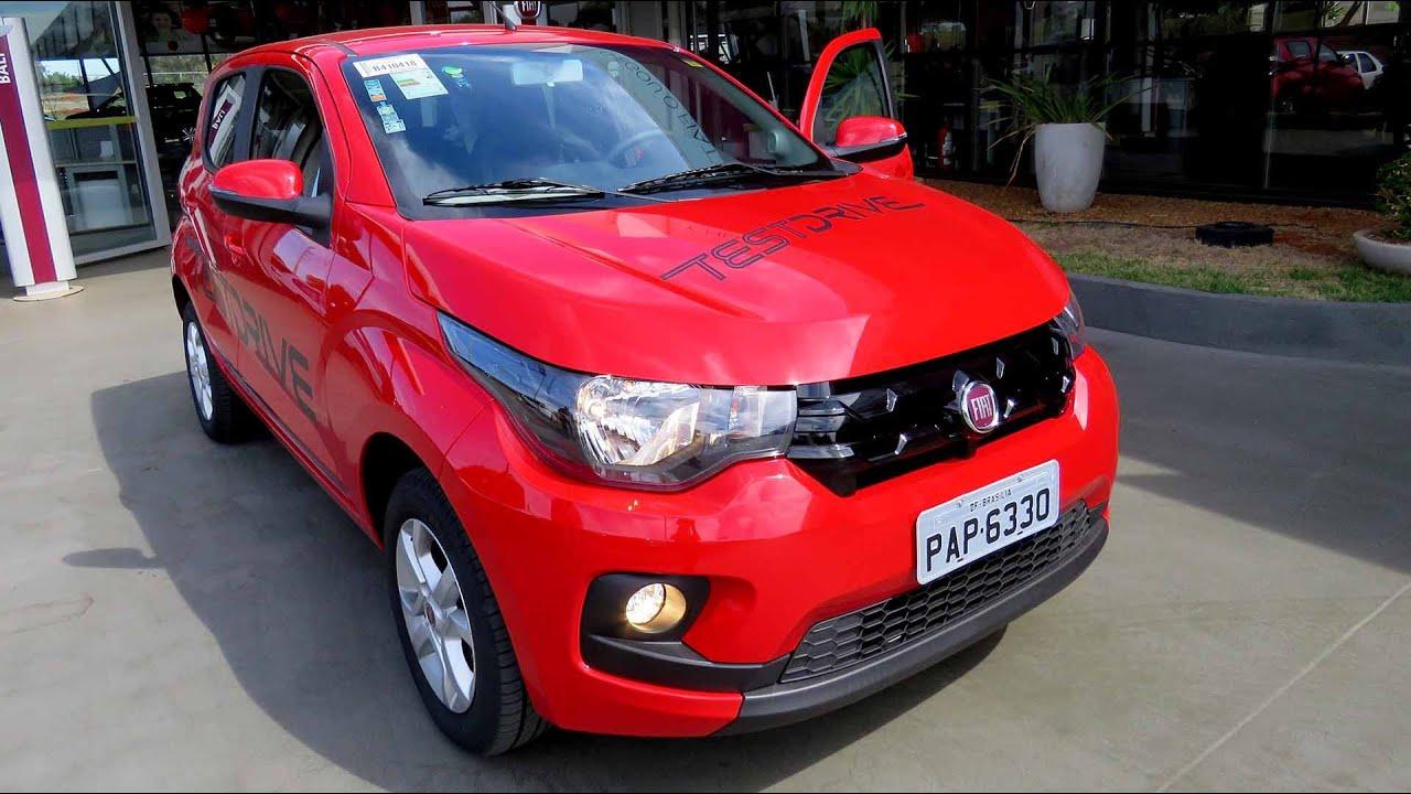 Fiat Mobi Like On - Detalhes  Teste Drive  Consumo E Performance -  Car Blog Br