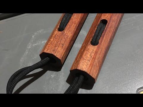Hand Tools and Kung Fu - Making Nunchucks - DIY