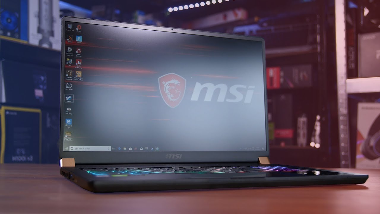 MSI GS75 RTX 2080 Gaming Laptop Review