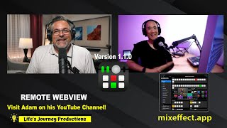 """MixEffect Update with Adam Tow Introducing """"Remote Webview"""" Version 1.1.0"""