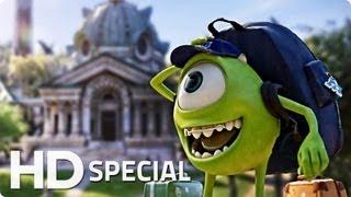 DIE MONSTER UNI Special Trailer German Deutsch HD 2013