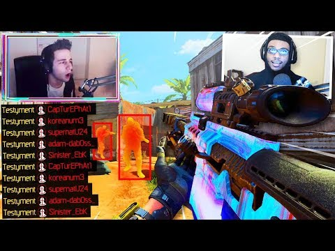 I Played against FaZe Testyment on Black Ops 4 and THIS Happened.. 😂