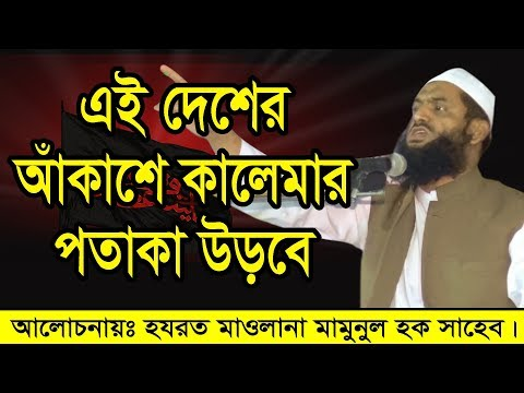 Maulana Mamunul Haque Bangla Waz এই দেশের আকাশে কালেমার পতাকা উড়বে thumbnail