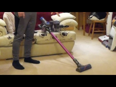 Review / Demo: Dyson V6 Absolute (UK) Cordless Handstick Vacuum Cleaner