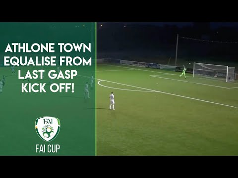 THE CRAZIEST FINAL MINUTE YOU'LL EVER SEE?! | ATHLONE EQUALISE FROM LAST GASP EXTRA-TIME KICK OFF