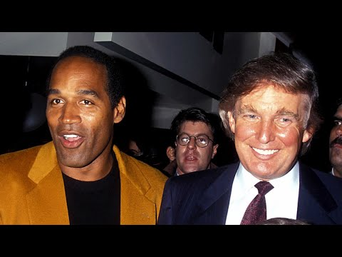 See When O.J. Simpson and President Donald Trump Used To Hang Out Together