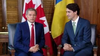 6/1516: Canada,Ottawa  Întâlnire cu Justin Trudeau, Prim-ministru