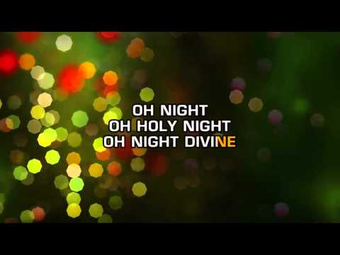 Traditional Christmas Songs - O' Holy Night (Karaoke)