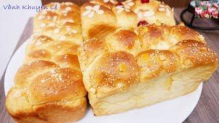 BÁNH MÌ HOA CÚC  - HARRYS BRIOCHE TRESSÉE - Bánh Mì mềm mại thành công ngay lần đầu by Vanh Khuyen
