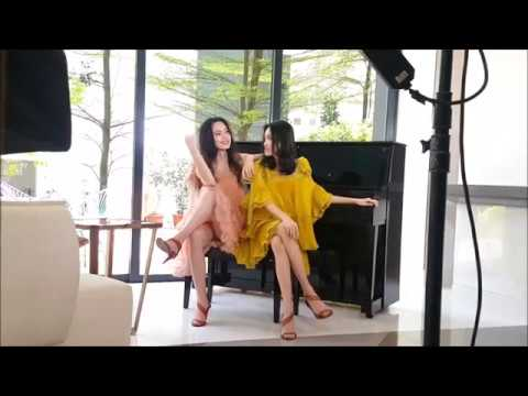 Fiona Fussi and Layla Ong for Harper