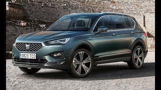 2019 SEAT Tarraco / New Perfect 7-seater SUV