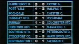 Alas Smith and Jones - Football Results