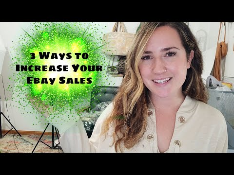 3 Ways To Increase Ebay Sales In 2020  |  Ebay Selling Tips And Tricks