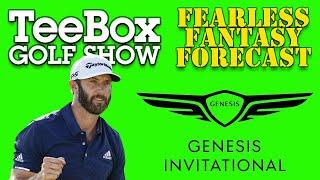 The TeeBox Fearless Fantasy Forecast: 2021 Genesis Invitational