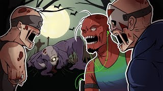 INTRODUCING ZOMBIE-RILLA! | Ben and Ed: Blood Party (w/ H2O Delirious, Ohmwrecker, & Gorillaphent)